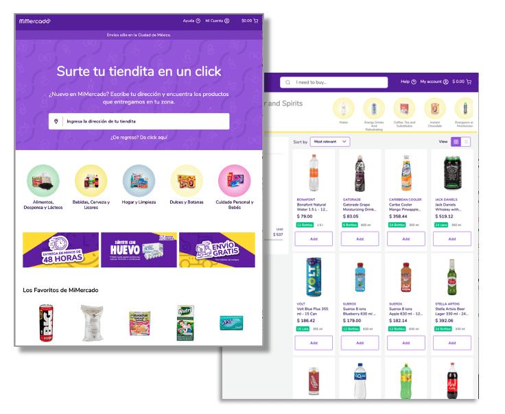 MiMercado Marketplace Screen Shots