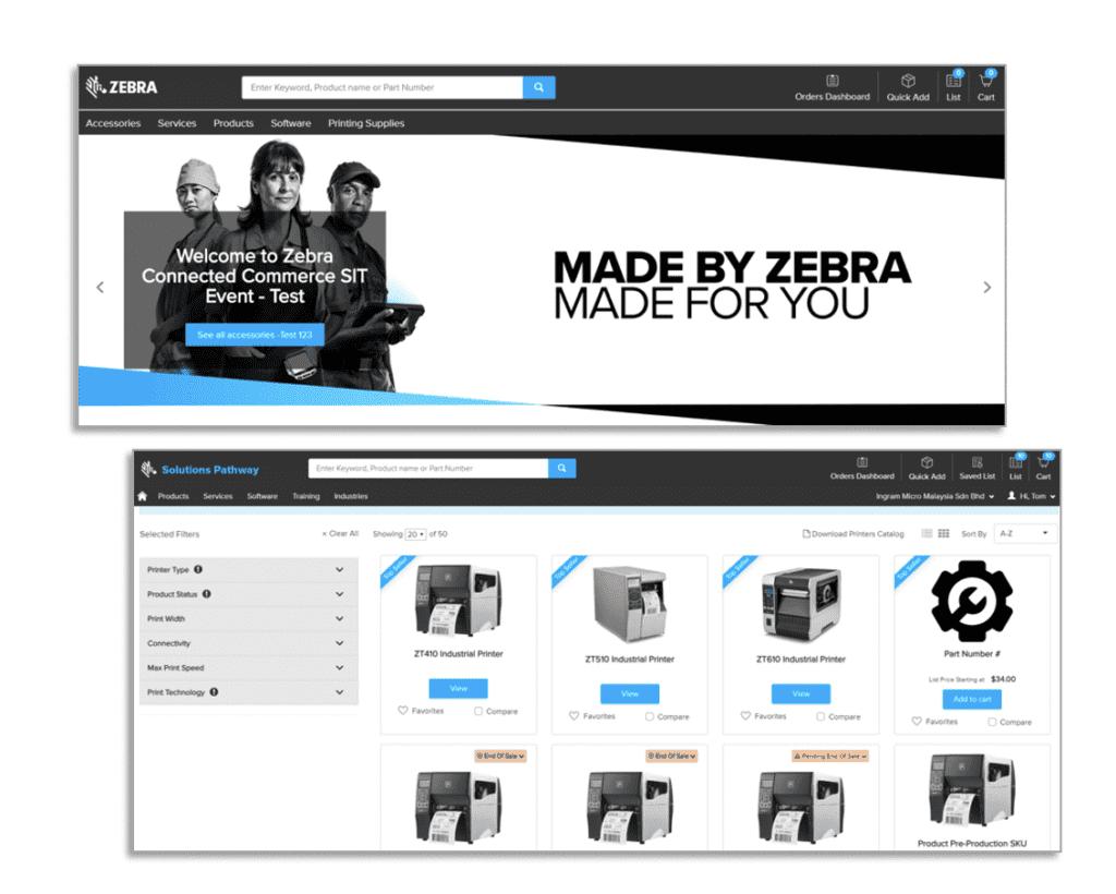 Zebra B2B Commerce Client Success Story