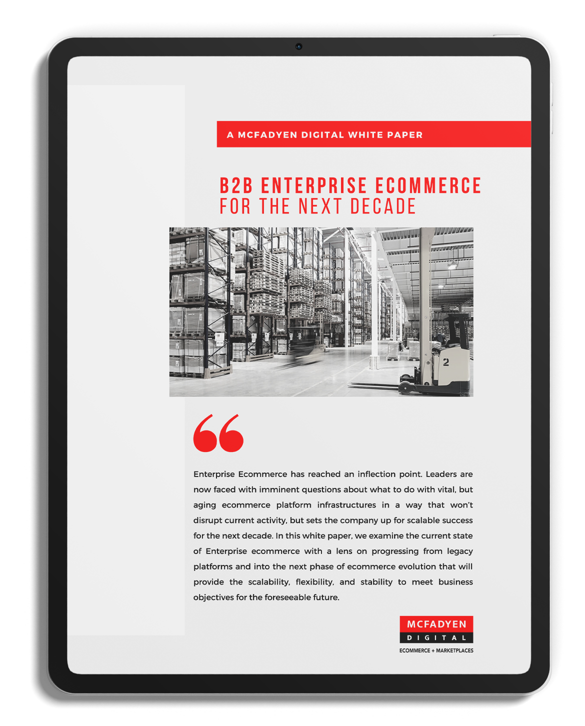 B2B Ecommerce for the Next Decade