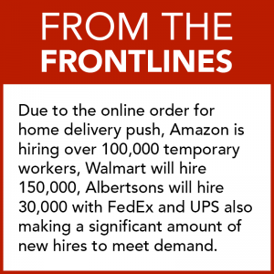 From the Frontlines - COVID-19 Hiring Push for Delivery