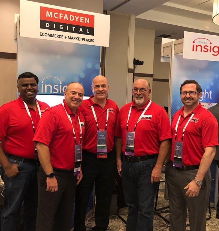 The McFadyen Digital team at PipelinePros Insight 2018