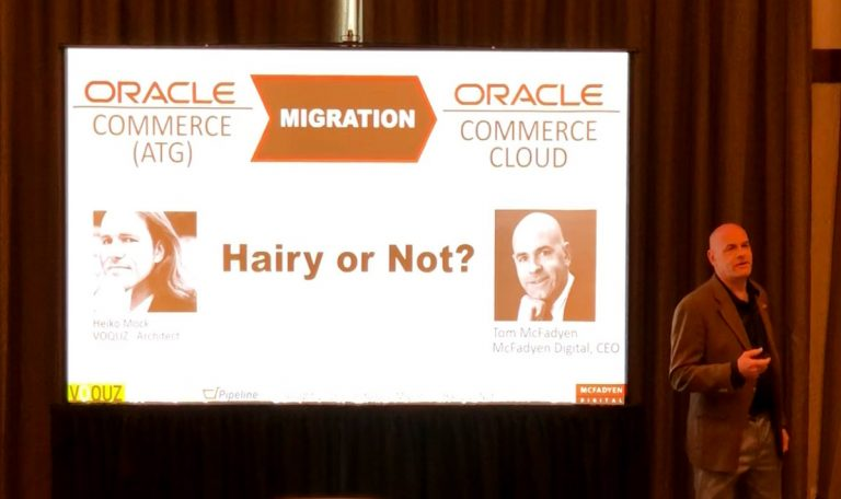 OCC Migration from ATG Session at PipelinePros Insight 2018