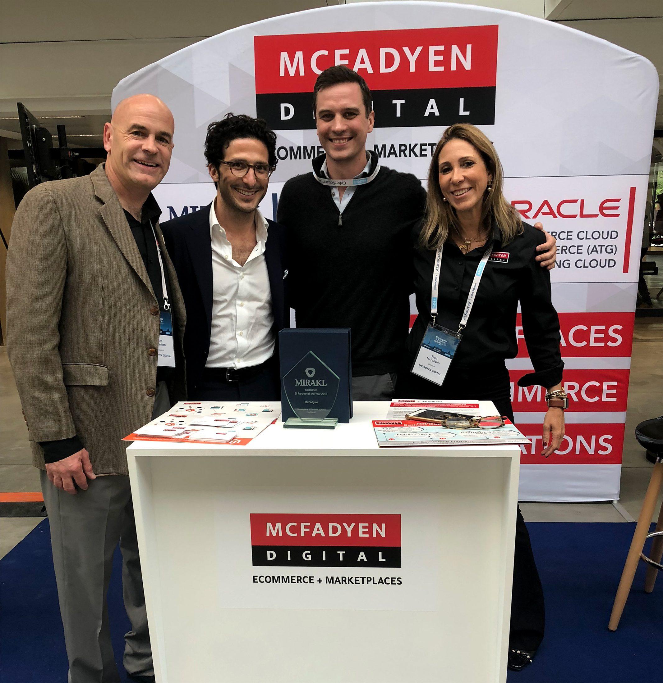 McFadyen Team with Adrien Nussenbaum, US CEO of Mirakl