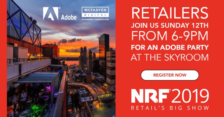 McFadyen and Adobe Party at NRF Big Show 2020