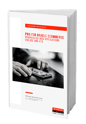 PWA for Oracle Ecommerce Ebook