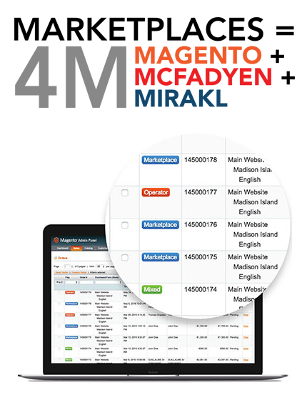 Magento + McFadyen + Mirakl = Marketplaces