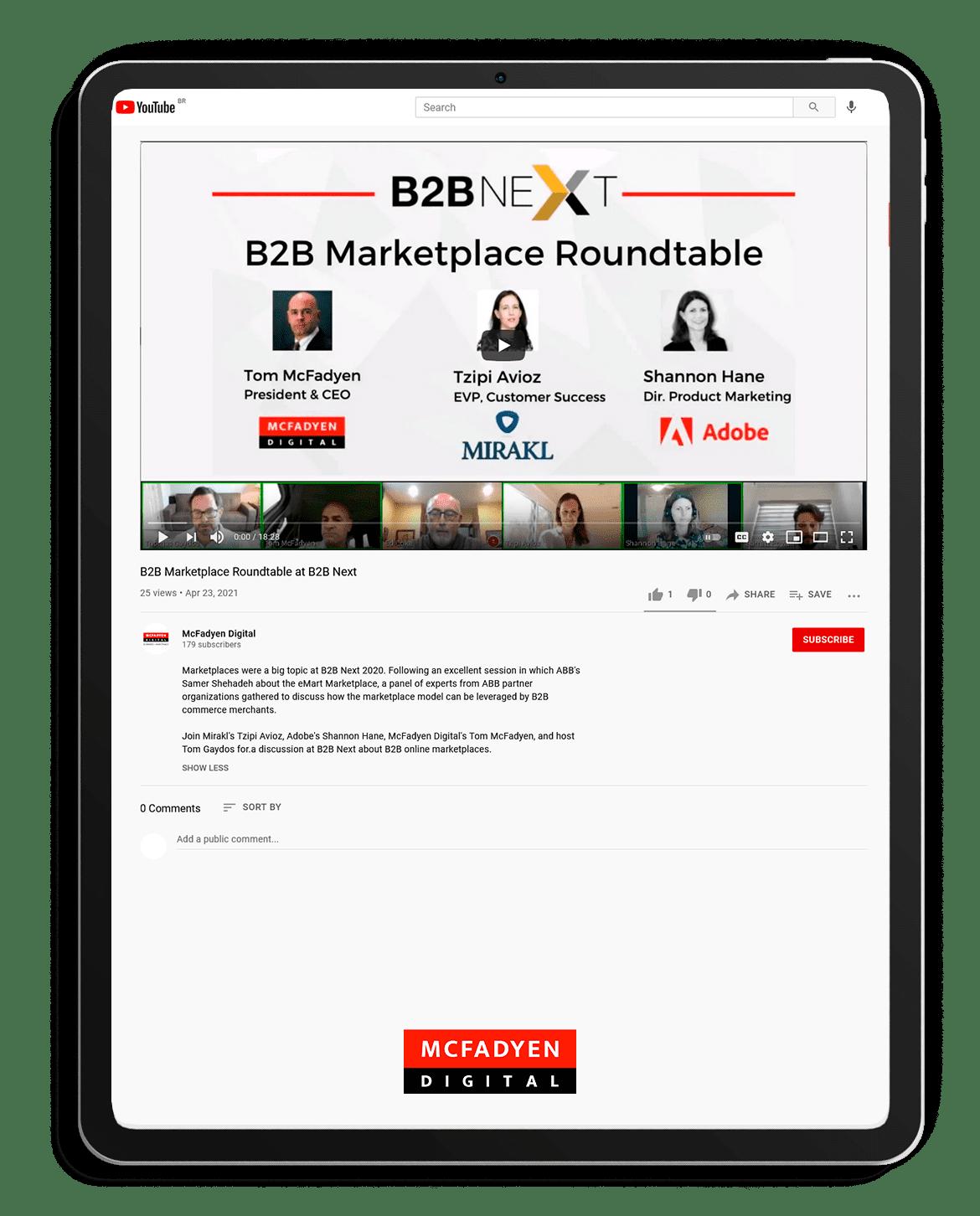 B2B Marketplace Roundtable
