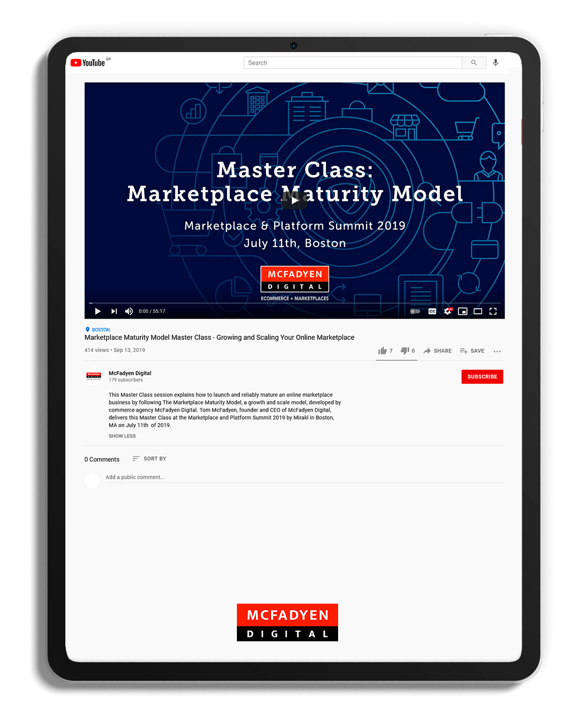 Marketplace Maturity Model Master Class