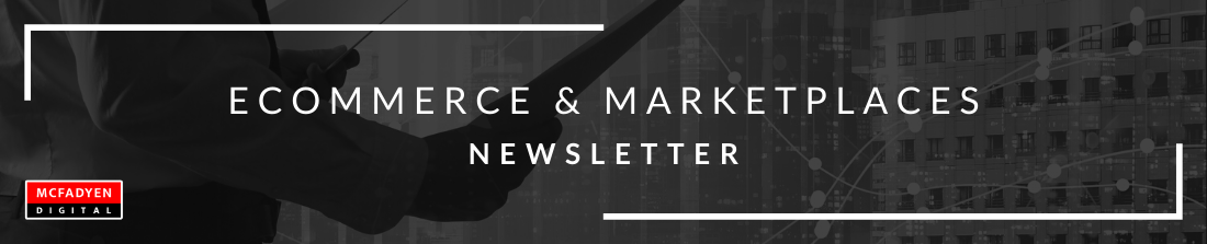 Ecommerce and Marketplace Newsletter Header