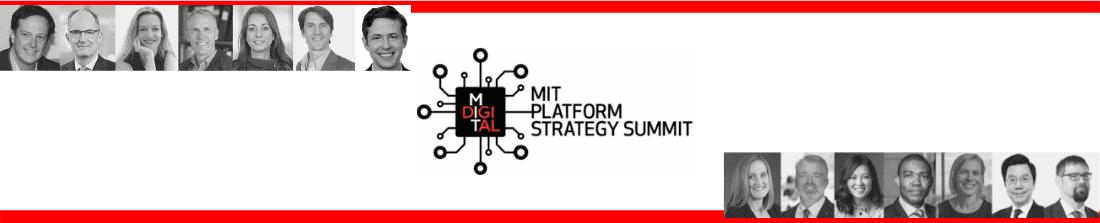 MIT Platform Strategy Summit 2021 Lineup